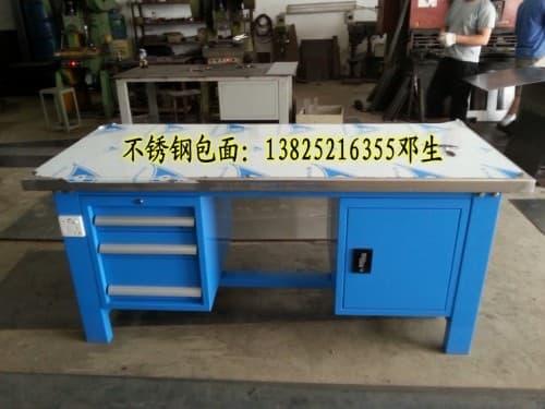 常平不锈钢包面工作桌厂家供应