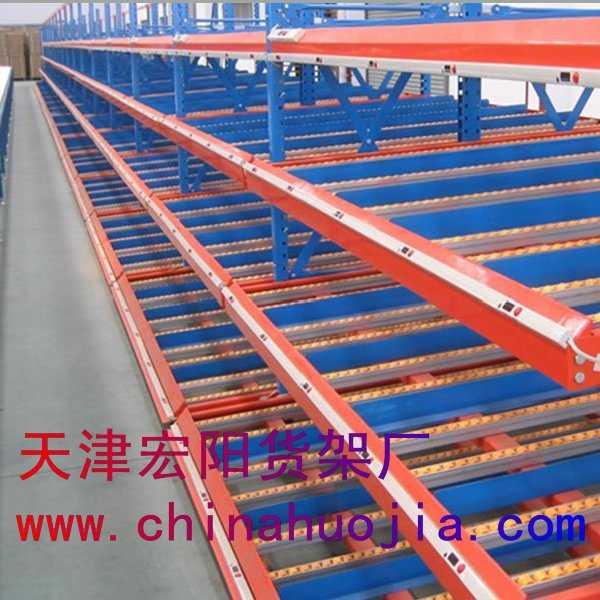 天津流利式货架线棒精益管流利货架