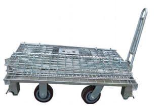 厂家销售折叠式仓储笼铁框仓库笼