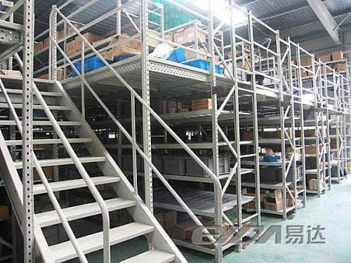 易达仓储物流货架 广州阁楼货架
