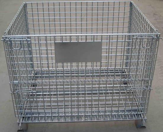 供应折叠仓储笼