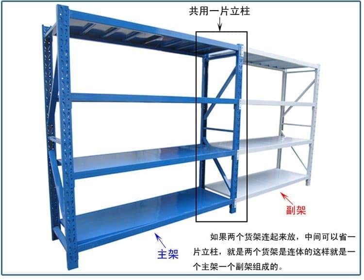 深圳仓储货架库房货架家用货架150*60*200cm/4层