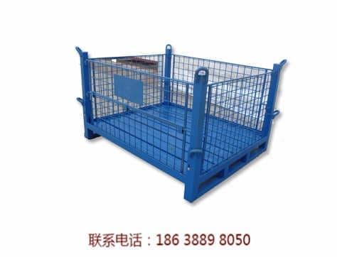 厂家生产仓储周转料箱折叠式料框