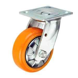 重型货架轮铁芯PU脚轮