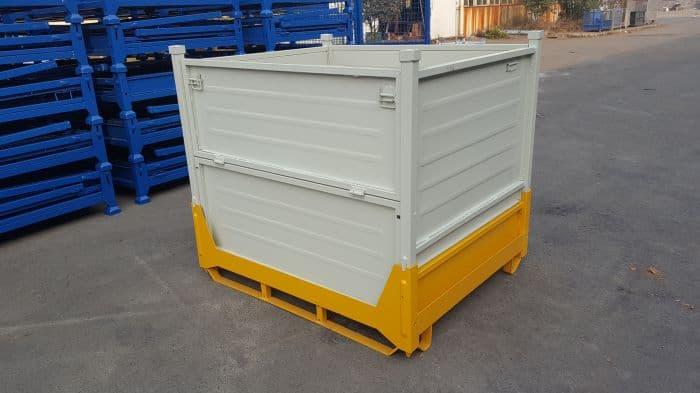 租赁叉车金属卡板箱