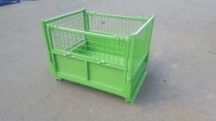 钢制周转箱物流箱铁箱铁质料箱废料