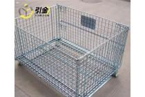 青岛折叠式仓储笼规格_800*600*640周转筐仓储笼价格