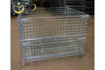周转筐仓储笼上哪买比较好,折叠式仓储笼带轮子现货可定制