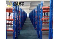 服装组合货架,电商物流货架,中型仓储置物架,青岛引金货架厂