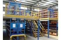 杭州荣勒阁楼货架,阁楼式货架平台,阁楼货架仓储