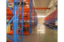 青岛引金公司专业生产轻中型电商服装货架,青岛仓储货架厂家