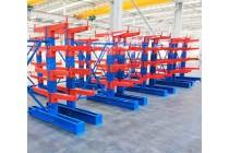 厂家定制仓储货架 双面悬臂式货架 重型管材管材悬臂架