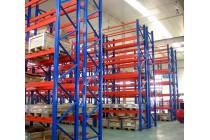 重型仓储货架加厚工厂库房横梁货架多层托盘式货架定做