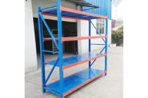 中轻型钢层板货架
