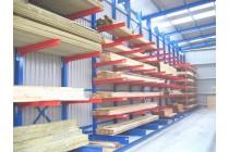 仓储货架定做重型库房货架 单双面悬臂式货架五金管材木材置物架