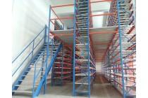 阁楼平台货架搭建仓库厂房钢结构阁楼重型货架定做厂家供应