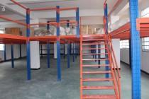 定制阁楼平台货架可拆装钢结构搭建设计库房重型货架