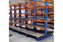 定制悬臂式货架门窗铝材木料仓库托臂货架单双面悬臂货架定做