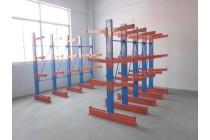厂家供应悬臂式货架仓储管材五金木材放置架工业厂房悬臂货架